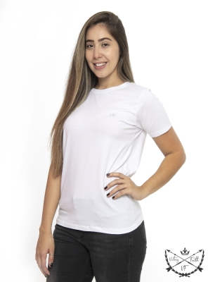 Camiseta Femininas VF Branca